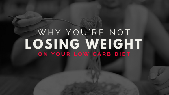 You're Not Losing Weight on Keto