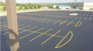 parking lot stripping