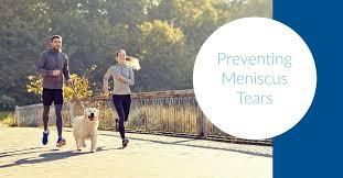 How to prevent meniscus tear?