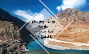 Amazing Things To Do On Your Trip To Ladakh
