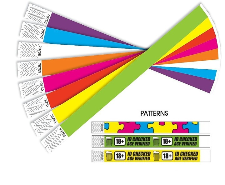 Why Tyvek Wristbands are Cool, Useful and Always Trendy?