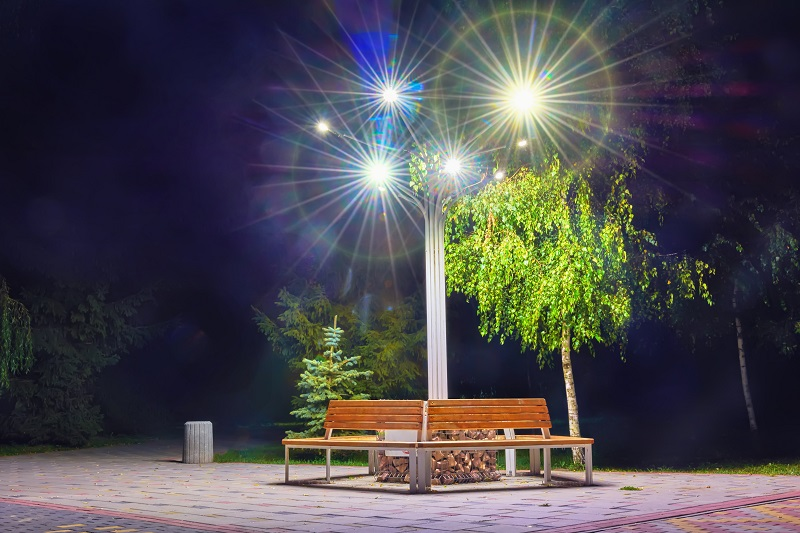 Illuminated Bench Enhance The Aesthetic Appeal Of Your Place?