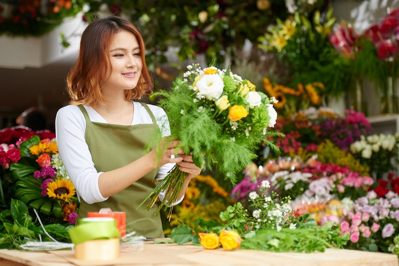 What All Traits One Must Acquire to Be a Good Florist?