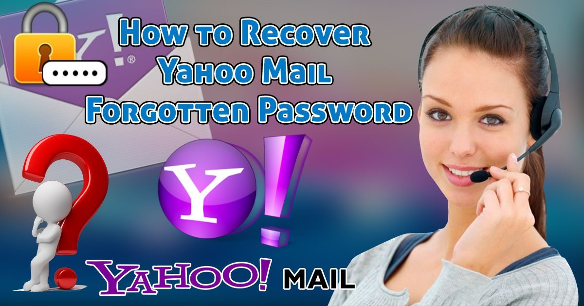 How to Recover Forgotten Yahoo Mail Password
