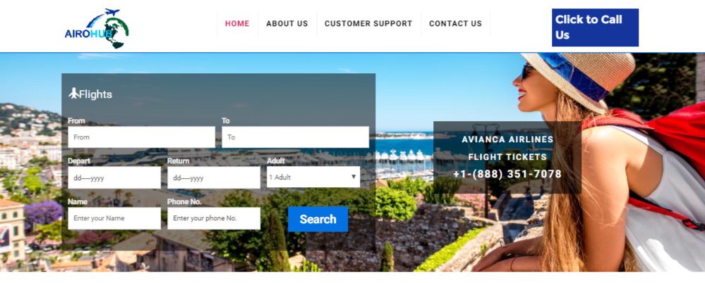 Avianca | Call Now For Low Fare & Offers On Avianca Airlines