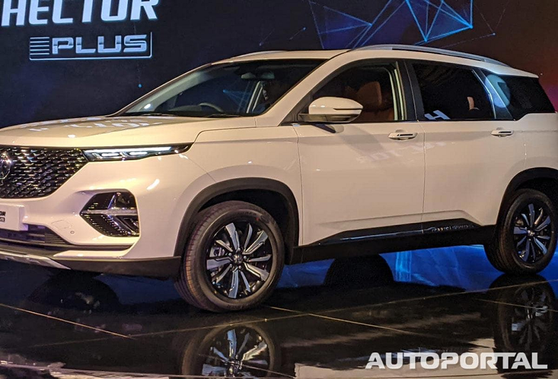 7-Seater Mg Hector Plus To Be Launched After 6 Seater In 2020