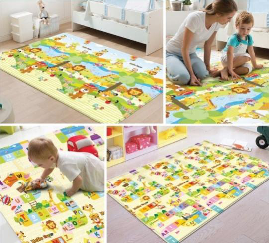 Helpful Guide To The Types Of Baby Playmats