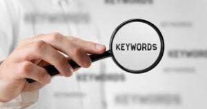 focus on keywords