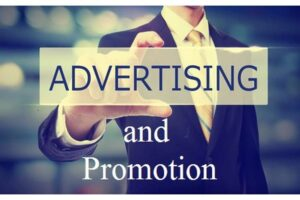 image of promotion and advertisement