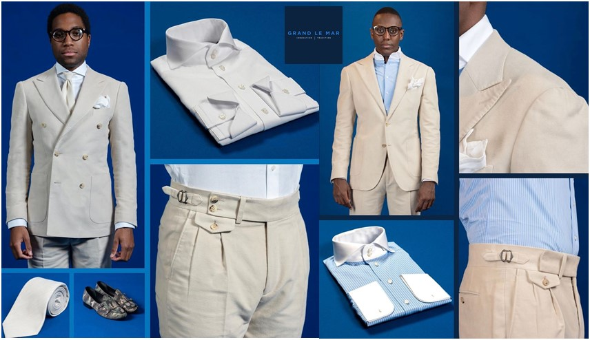 Reasons for Buying Italian Culture Clothing and High End Men's Suits from the Online store of Grand Le Mar