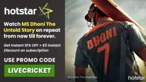 Hotstar promo Code IPL 2020: LIVECRICKET