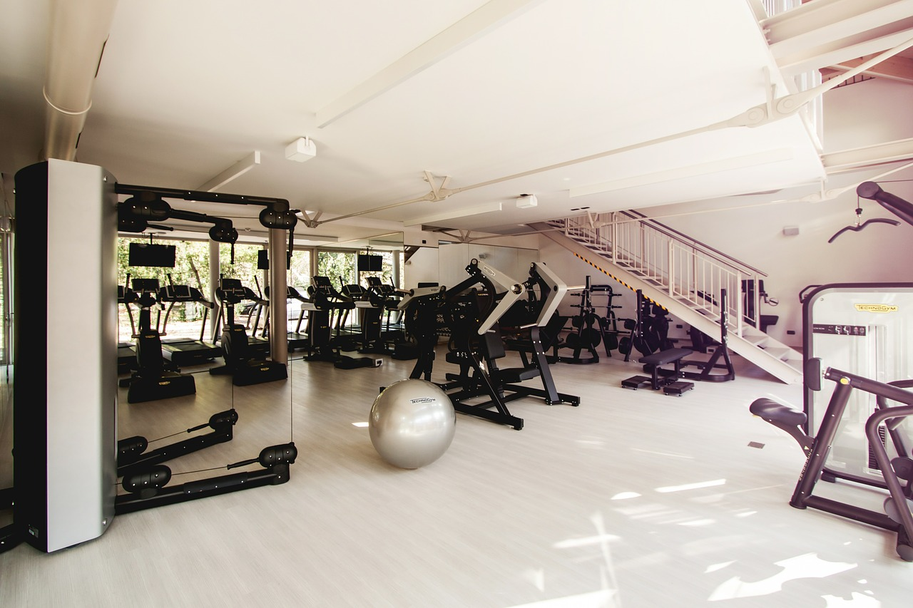 best commercial gym flooring
