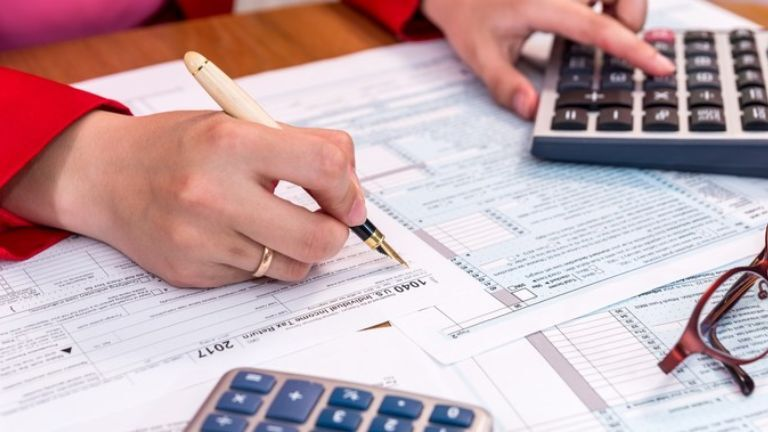 Calculation of taxes