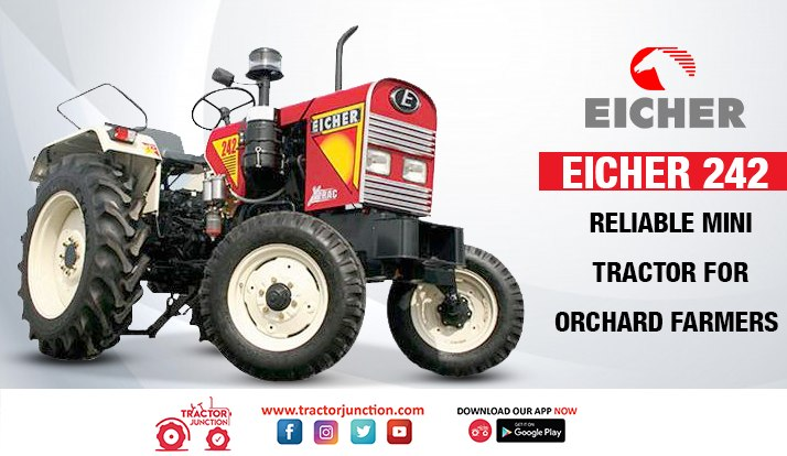 Eicher 242 – Reliable Mini Tractor for Orchard Farmers