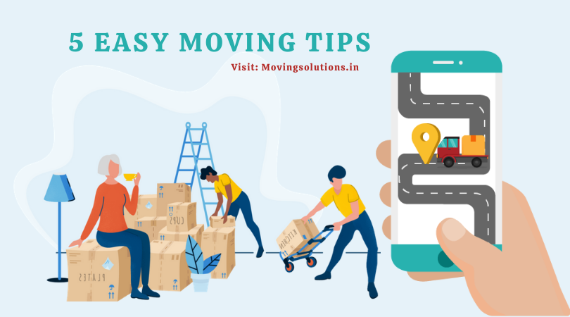 5 Easy Moving Tips