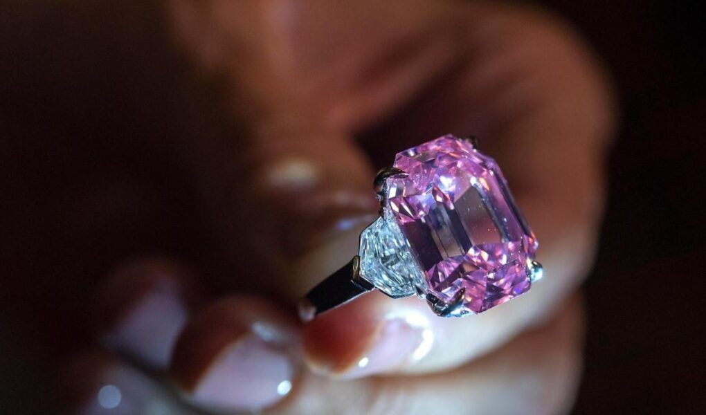 World's Most Expensive Pink Diamond Ring