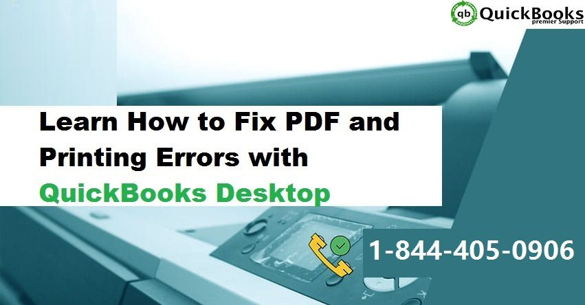 How to Troubleshoot QuickBooks PDF and Printing Errors?