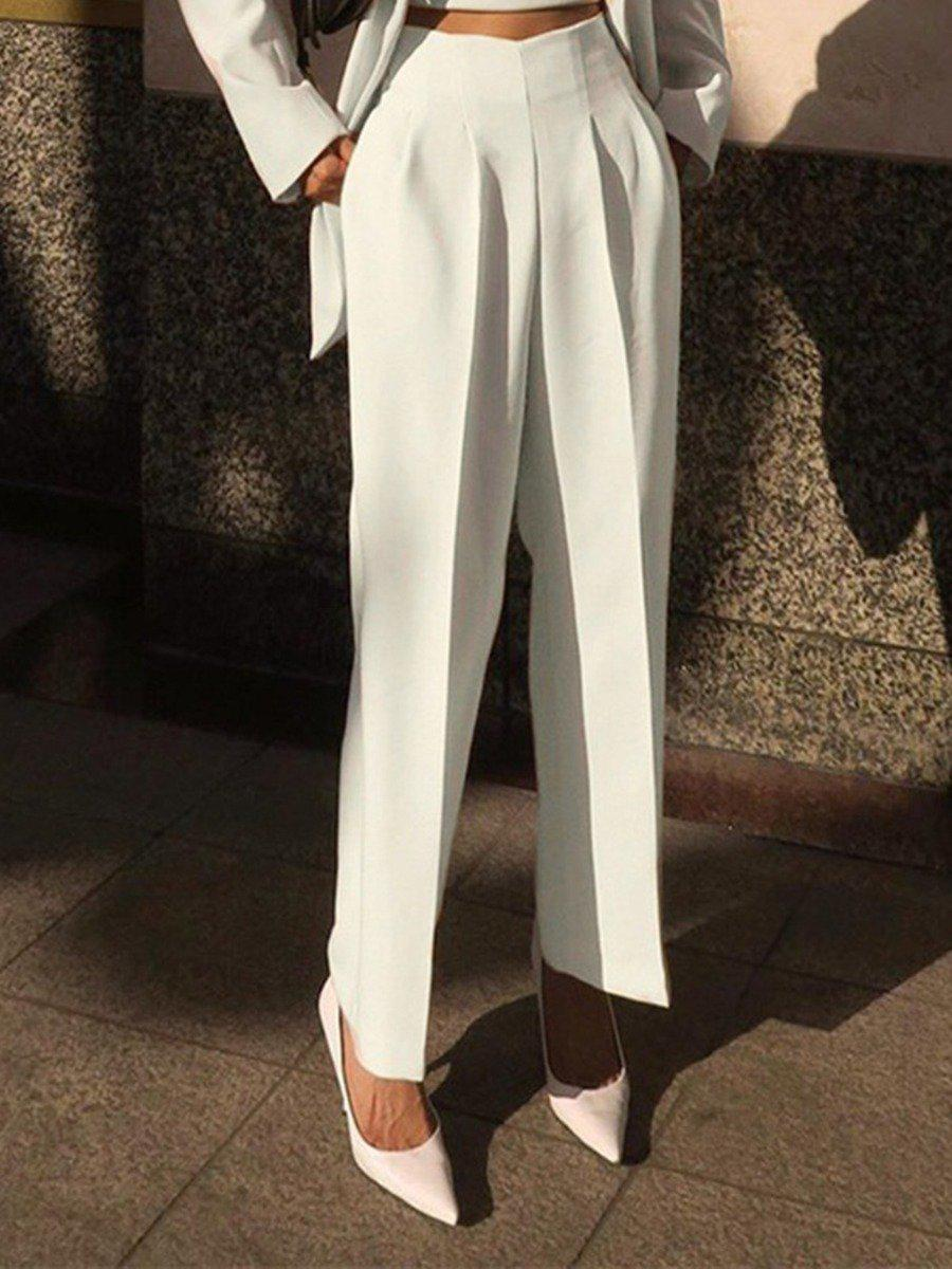 shestar wholesale high waist pleat office millennium trousers
