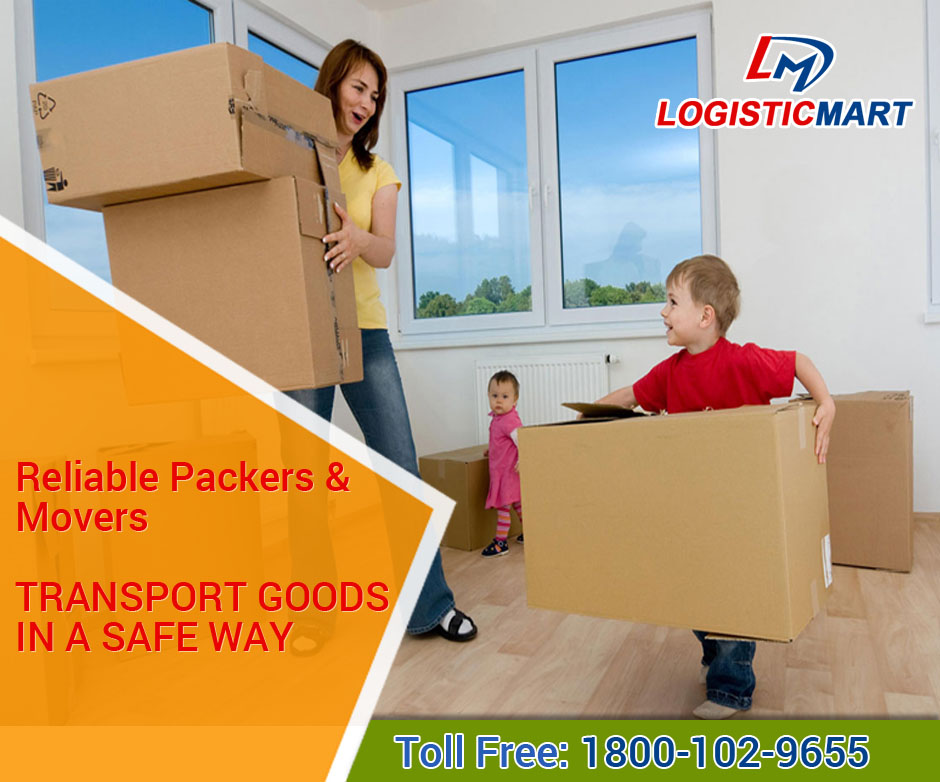 Packers and Movers in Delhi NCR - LogisticMart