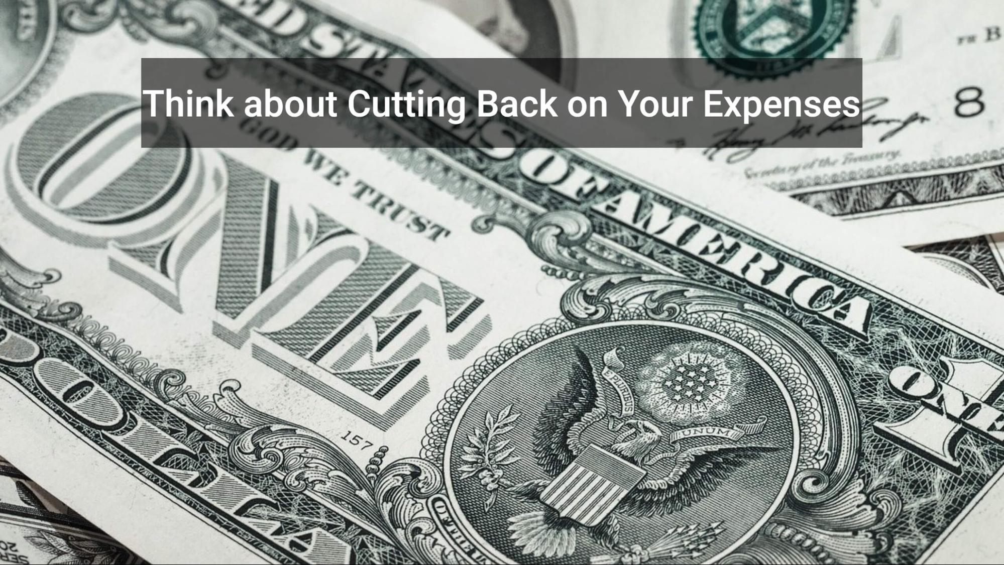 cutting cash expence