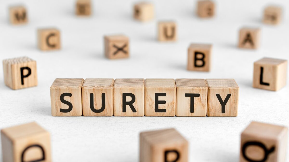 How issuance of surety bonds is done