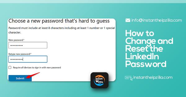 How to Reset the LinkedIn Password