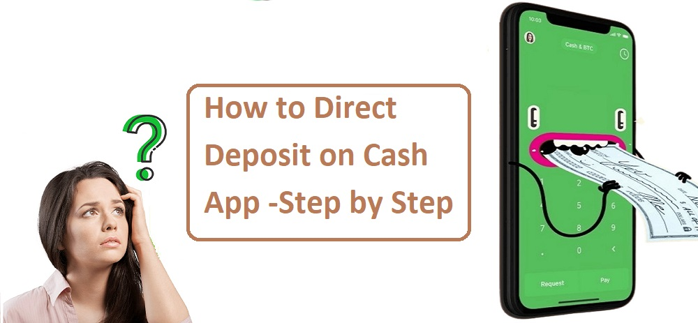 How to Direct Deposit on Cash App   Step by Step
