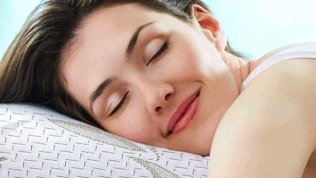Sleepsia – Bamboo Pillow King   Foam Pillow for Neck Pain