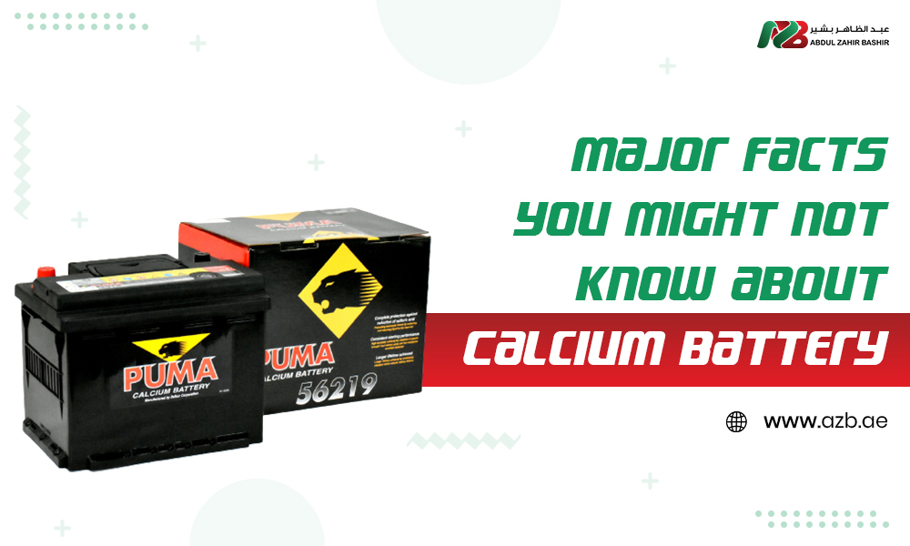 Major Facts you might not know About Calcium Battery