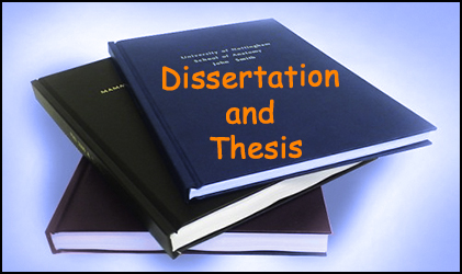 What is the difference between thesis and dissertation writing