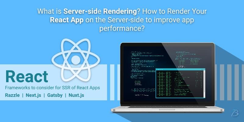 react server side rendering