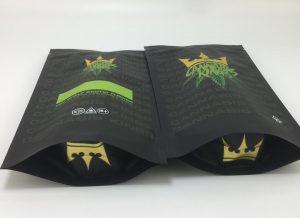 custom mylar barrier bags