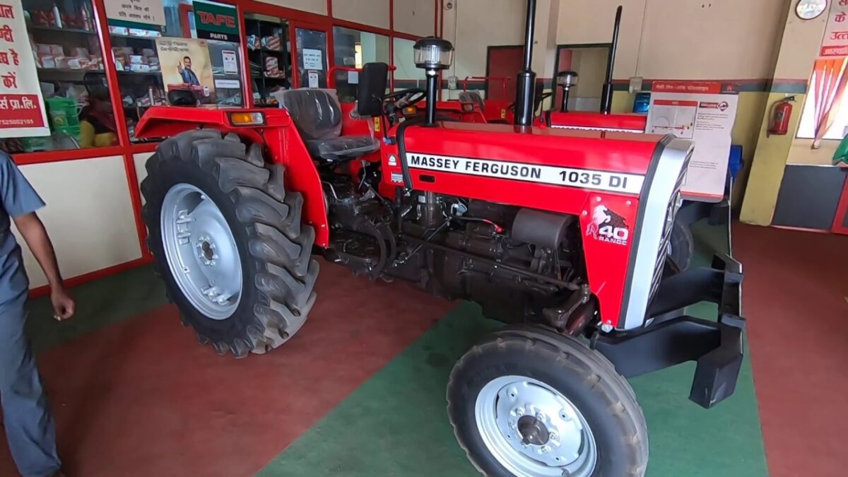 Massey 1035 Tractor – Offering Large Package of Features
