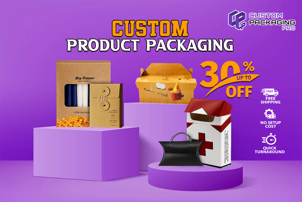 Trend your product well with Custom Product Packaging